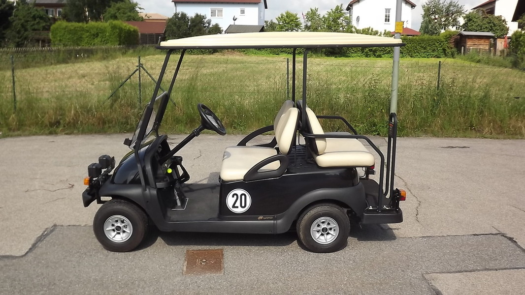 golfcart strassenzulassung in regensburg neu u. Black Bedroom Furniture Sets. Home Design Ideas